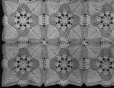 Pine Cone Bedspread Pattern #65