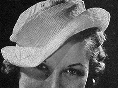 Riviera Hat Pattern #2071