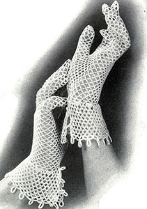Lattice Loop Gloves Pattern #2075