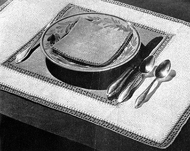 Normandie Luncheon Set Pattern