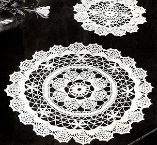 Fan Doilies Pattern