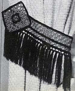 Fringed Tie-Back Pattern