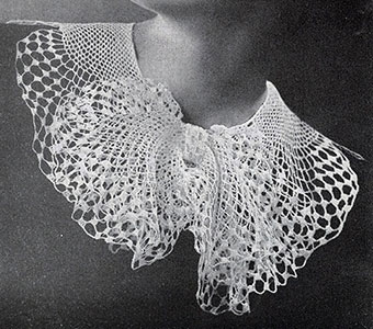 Butterfly Collar Pattern #2028