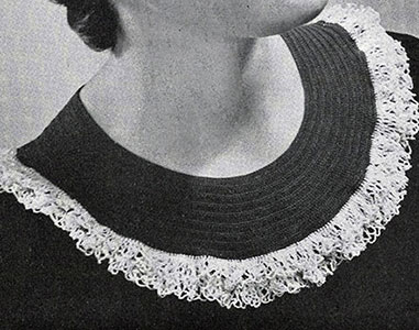 Pierrot Collar Pattern #2103
