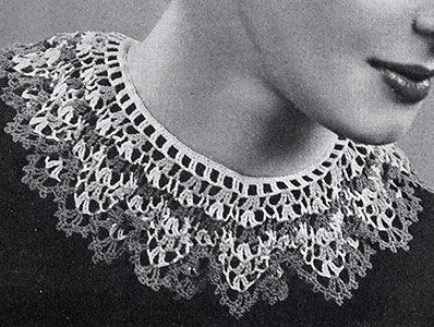Festoon Collar Pattern #2130