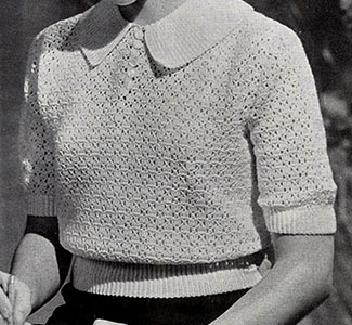 Buster Brown Sweater Pattern