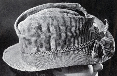 Fedora Hat Pattern #2127