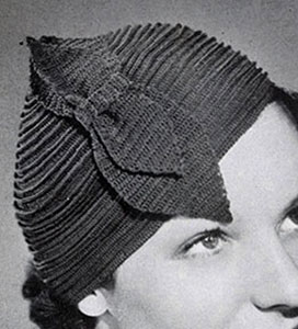 Ridge Round Hat Pattern #2168