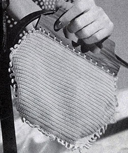 Fringed Bag Pattern #2169