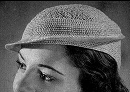 Jockey Hat Pattern #2175