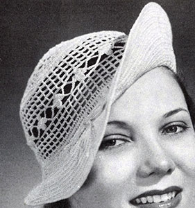 Clover Top Hat Pattern #2184