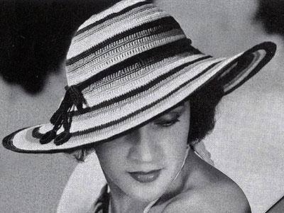 Sombrero Pattern #2185