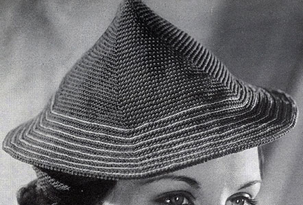 Coolie Hat Pattern #291