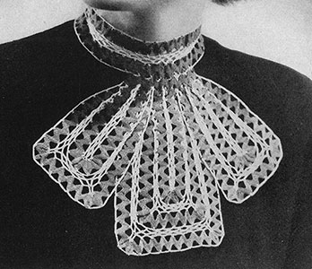 Rick Rack Collar Pattern #2206