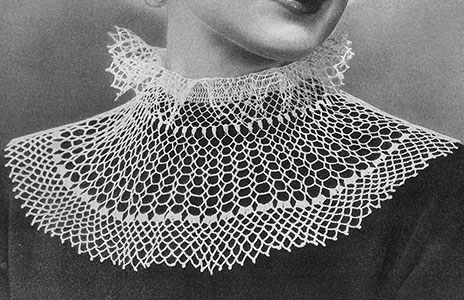 Juliet Collar Pattern #2218