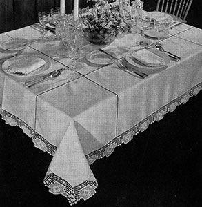 Festival Tablecloth Pattern #7003