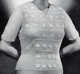 Regency Pullover Pattern #1098
