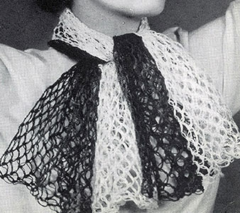 Fishnet Scarf Pattern #2248