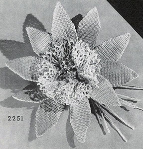 Giant Lily Boutonniere Pattern #2251
