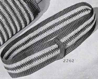 Belt Pattern, No. 2262