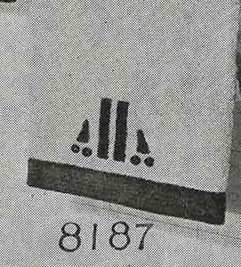 Towel Edging Pattern, No. 8187