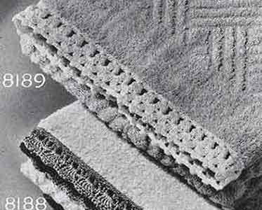 Towel Edging Pattern, No. 8189