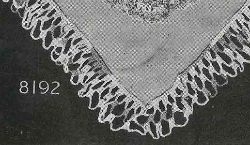 Kerchief Pattern, No. 8192
