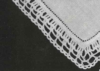 Handkerchief Edging Pattern, No. 8193