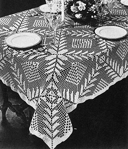 Square-a-Day Tablelcoth Pattern #7067