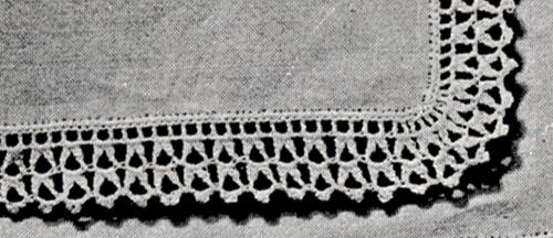 Handkerchief Edging Pattern #49