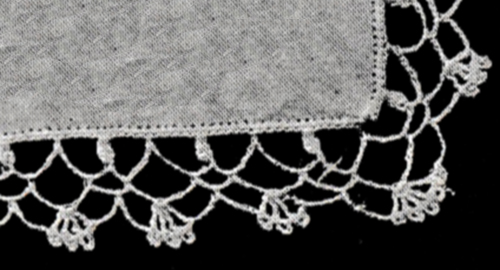 Handkerchief Edging Pattern #51