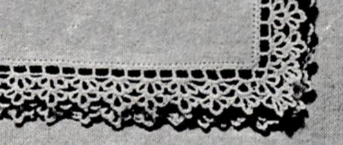 Handkerchief Edging Pattern #53