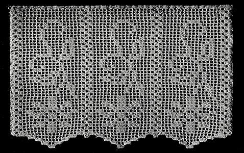 Favorite Filet HOWB Collector Series Filet Monogram Doily Crochet Pattern