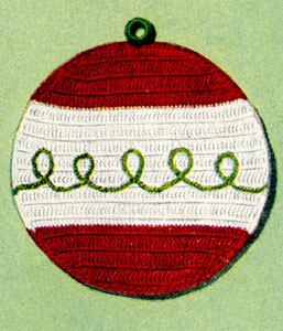 Holiday Potholder Pattern