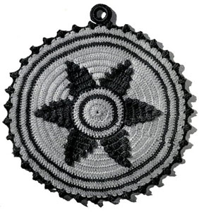 Star Potholder Pattern