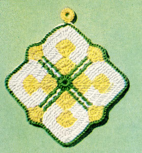 Crossbar Potholder Pattern