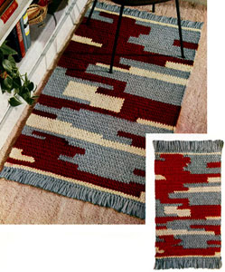 Cliff Dweller Rug Pattern