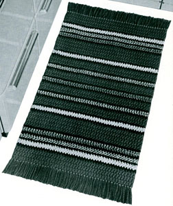 Regimental Stripes Rug Pattern