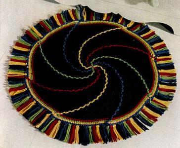 Pinwheel Rug Pattern