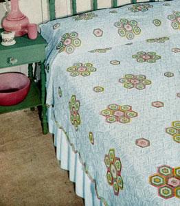 Calico Crochet Bedspread Pattern