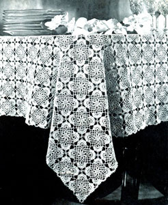 Jonquil Tablecloth Pattern
