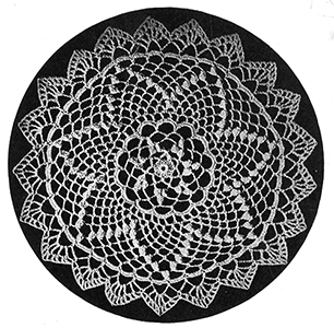 Star Doily Pattern #219