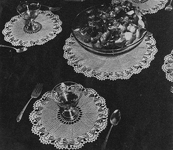 Luncheon Set Pattern #226