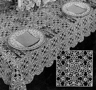 Cluny Design Tablecloth