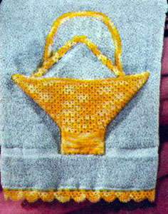 Applique Basket and Edgings Pattern