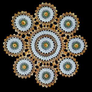 Rambler Rose Doily Pattern