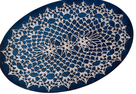 Motif Center Doily Pattern