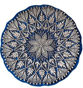 Cluster Stitch Doily Pattern