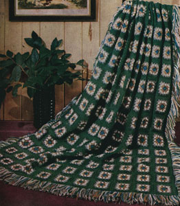 Granny Afghan Pattern