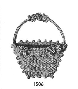 Sachet Basket Pattern #1506